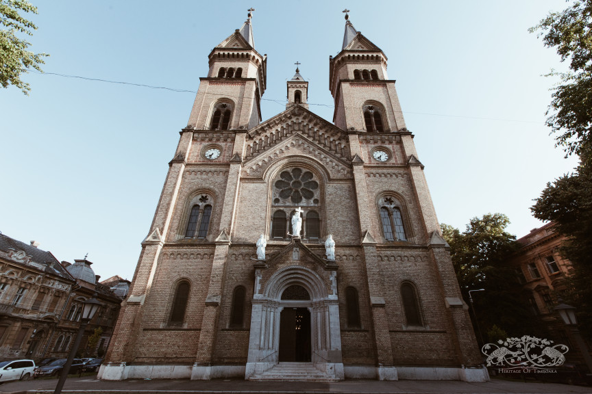 Hajnalka G.: Here is where I was baptised. Here is where I got married… and here is where I live.